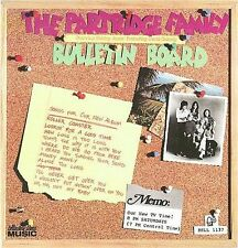 Bulletin Board The Partridge Family CD, Shirley Jones David Cassidy