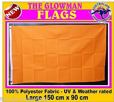 orange flag hi vis flag neon orange flag