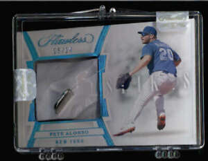 PETE-ALONSO-2020-PANINI-FLAWLESS-SPIKES-USED-CLEAT-RELIC-05-14-RARE-FC6105