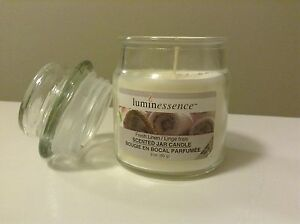 Luminessence-FRESH-LINEN-Scented-3-OZ-Candle-WHITE-SOY-WAX-Mini-Glass-Tumbler