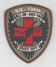Army Patch:  G Co. 2nd Battalion, 135th Aviation Regiment OEF-14