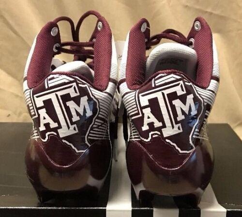 3c0e936b5 1 of 7 NEW Adidas AS SMU 5-Star 2.0 Mid NCAA A M Texas Football Cleats  G98635
