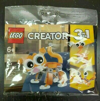 LEGO Creator 30574 3 In 1 Cat 55 Pieces NEW Free Shipping