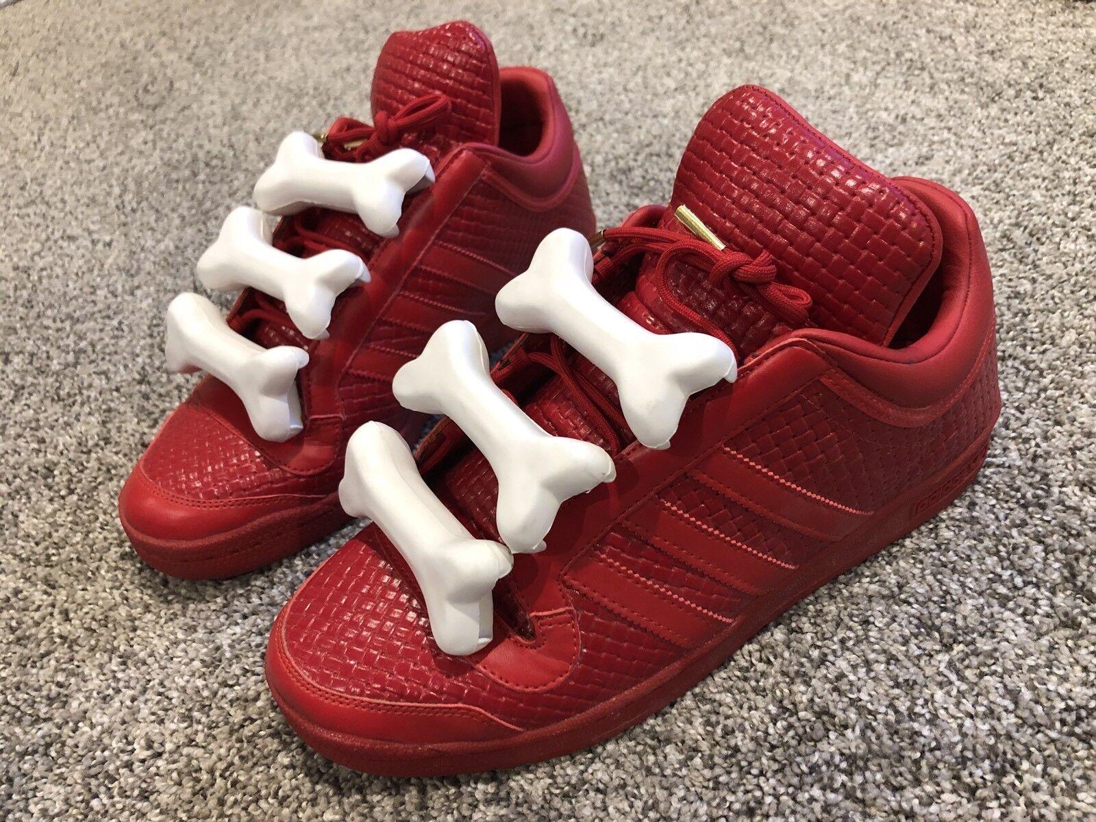 Adidas jeremy scott misura ossa omaggio, misura scott 10,5, raro!!!! 3c9d96