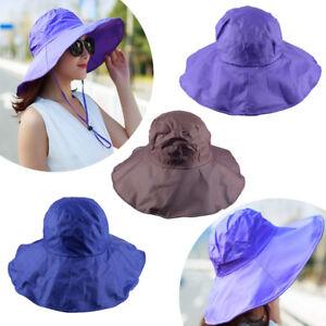 Chapeaux-Pluie-Femmes-Impermeables-Large-Chapeau-de-Seau-Chapeau-Bonnet-Sun-Hats
