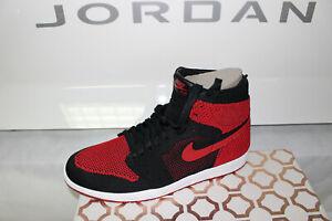 Jordan Retro Hi Nike 001 5 1 919704 Bred nuevo 11 tamaño Flyknit q1Enw17fd