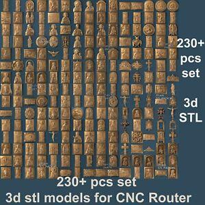 3d-stl-models-230-pcs-set-for-CNC-Router-Artcam-Aspire-Vcarve-pro