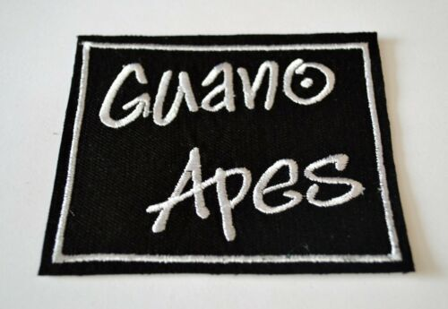 Guano Apes Embroidered Iron-On Punk Rock Rare Patch Badge
