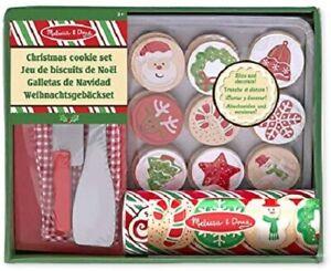 Melissa-amp-Doug-Madera-Slice-amp-Hornear-Navidad-Galleta-Comida-de-Juguete-Juego