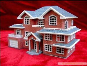 Image Is Loading 3D Plastic House Kit Palace Construction Model Villa