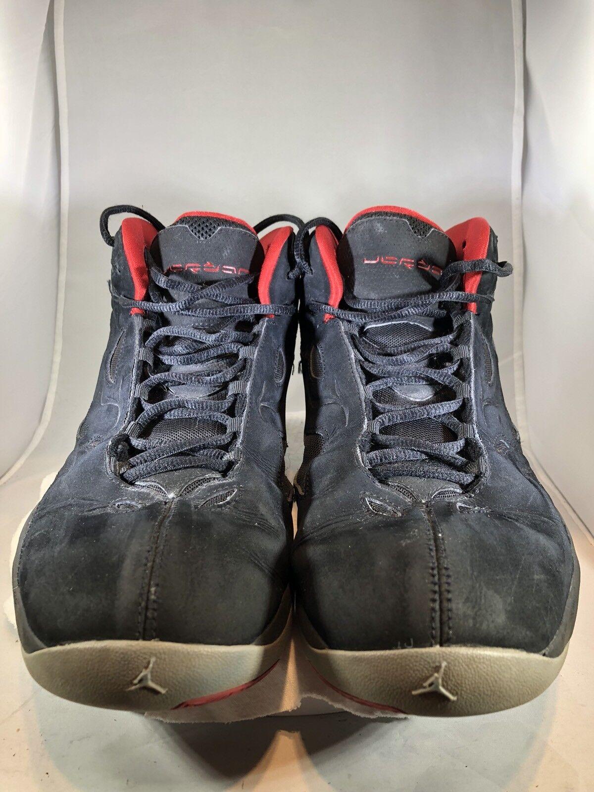 Nike Air Jordan (Black/Varsity Red-Stealth 364808-061- Size Basketball Shoes