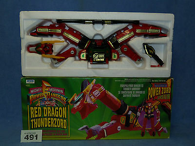 POWER RANGERS RED DRAGON THUNDERZORD BOXED ALL PARTS 491