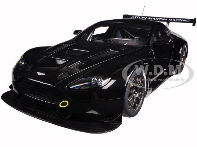 2013 Aston Martin Vantage V12 Gt3 nero 1 18 Auto Modelo De Autoart 81308