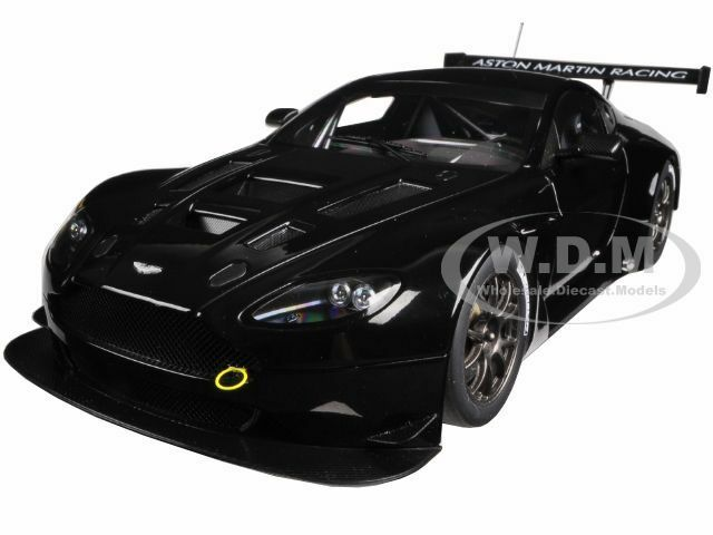 Autoart 1 18 Racing Aston Martin V12 Vantage Gt3 2013 Black 81308 Ebay