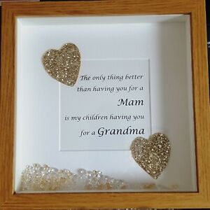 Image Is Loading Personalised Mother Daughter Box Frame Mothers Day Birthday