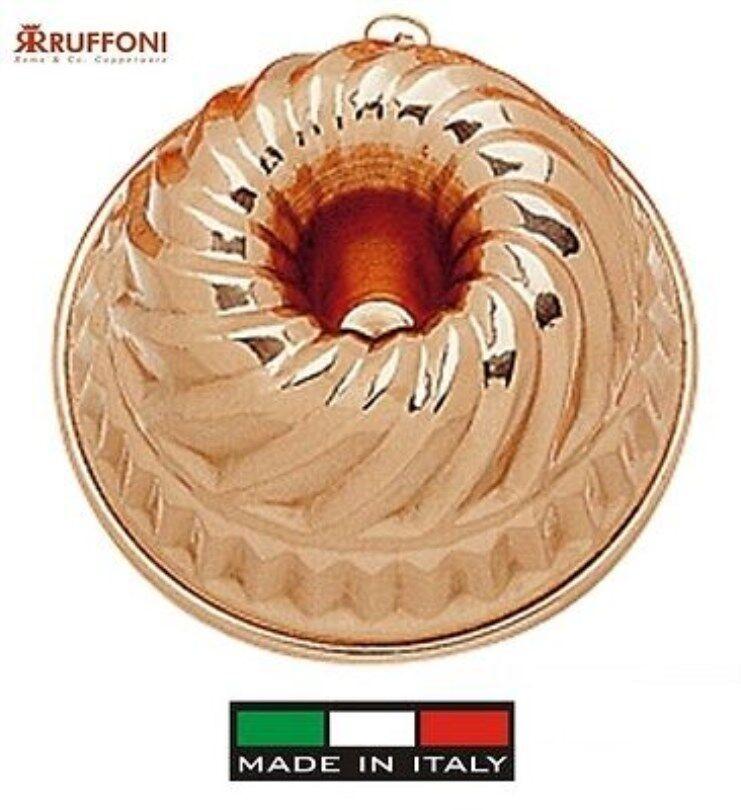 Ruffoni   Moule Pudding Cuivre étamé cm de Diamètre 23 Cm