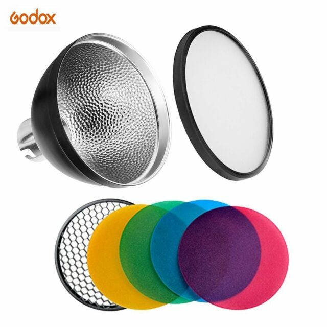 Godox AD-S2 Standard Reflector with Soft Diffuser and AD-S11 Witstro Flash
