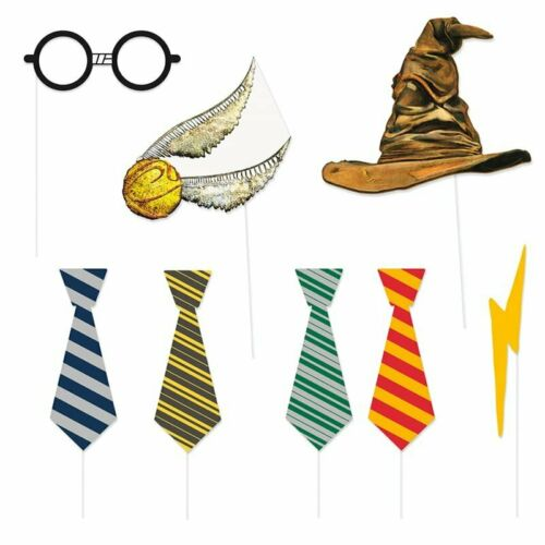 8 accessories photo booth Harry Potter