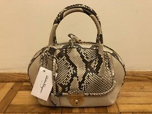 a195fa8bf46a Image is loading NEW-Authentic-Beige-Fiamma-Salvatore-Ferragamo -Python-Snakeskin-