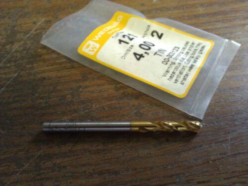 ".1575/"" 4mm HSCO TiN COATED SCREW MACHINE LENGTH DRILL"