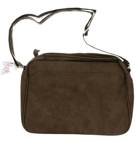 Ladies Nicole Brown Over the Shoulder Bag in Various Colours JBHB2534