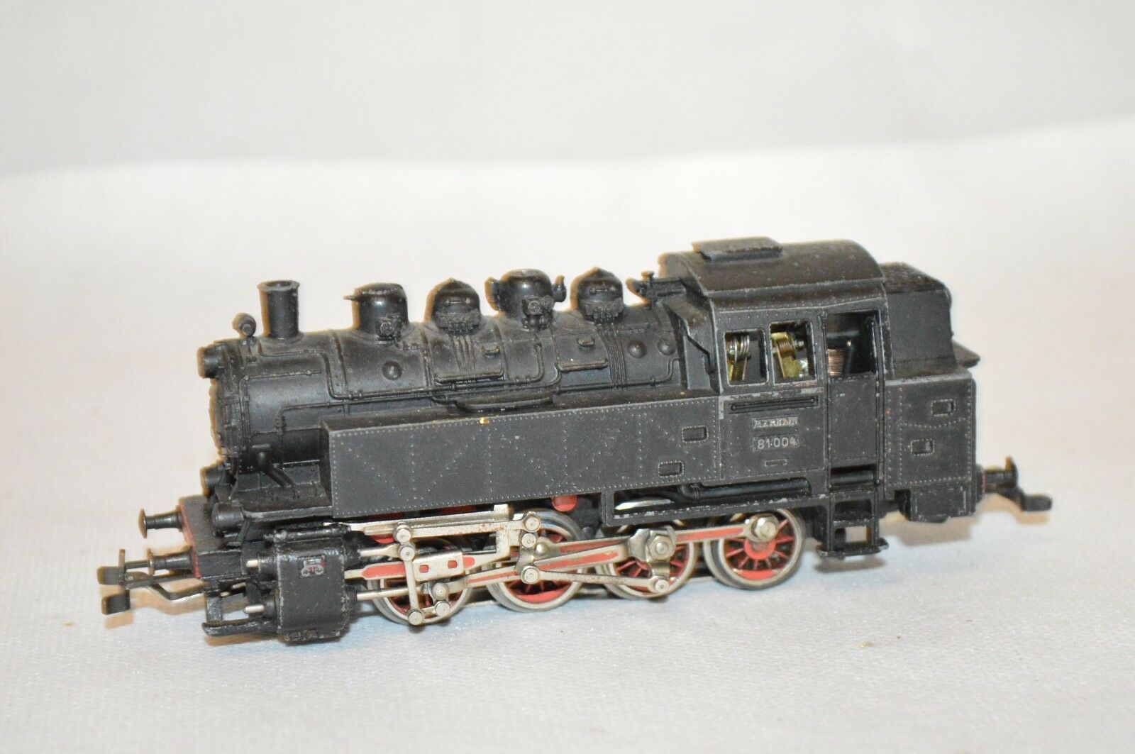 Marklin ho vapor tenderlok DB 81004 locomotora u2