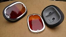 VW TYPE 2 BUS 1962-1971 TAIL LIGHT COMPLETE ASSEMBLY W/AMBER RED LENS 1pc T2