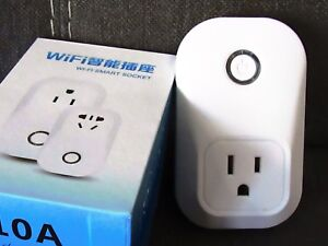 Details about Ourlink WiFi Smart Plug/Socket (New, controlled with free app)