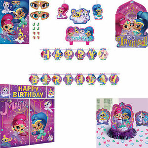 Image Is Loading Shimmer Amp Shine Birthday Decorations Banners Posters Invitations