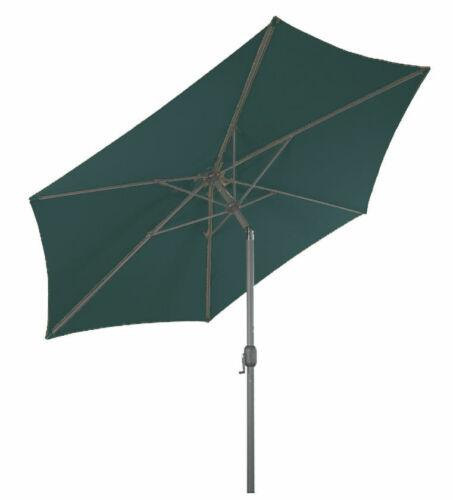 manivela-verde-martktschirm manivela paraguas Alu parasol 250 cm quiebro articular