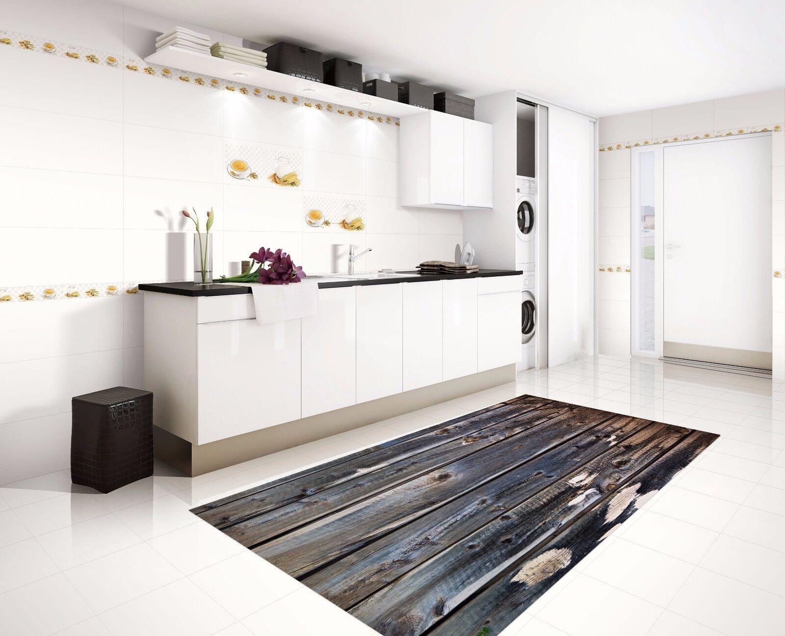 3D Retro Boards 3 Kitchen Mat Floor Murals Wall Print Wall Deco AJ WALLPAPER AU