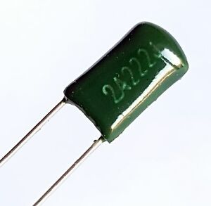 50 x 2.2nF 0.0022uF 100V 5/% Polyester Film Capacitor