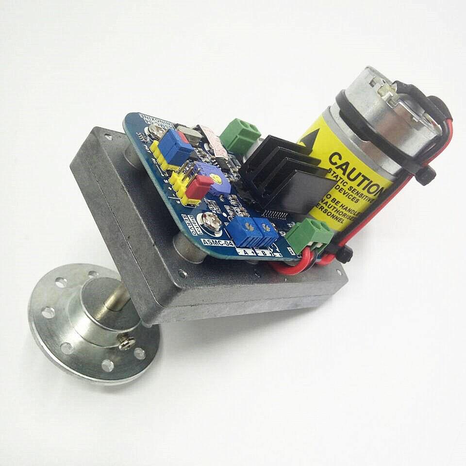 Alto esfuerzo de torsión del manejo servo motor 110KG.CM robot Gear & Placa para brazo mecánico