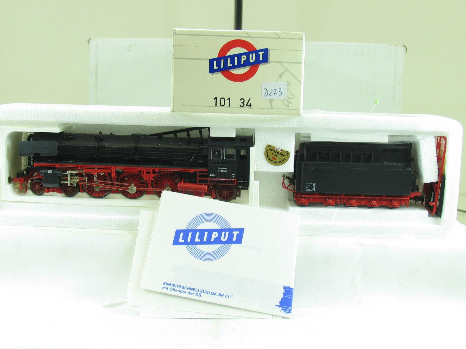 Liliput h0 101 34 locomotiva BR 01 1054 olio della DB b2378