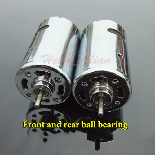DC 12V 18V 24V 12000RPM Large Torque Magnetic RS-555 Motor DIY Drill Car Model