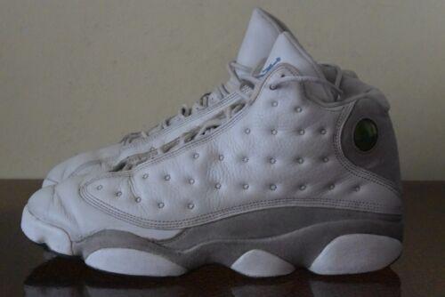 Nike Air Jordan Retro 13 XIII White Flint Grey Uni
