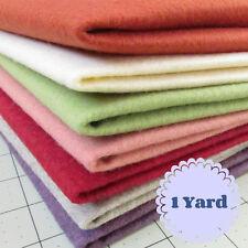 1 Yard Merino Wool blend Felt 20% Wool/80% Rayon - Cut to order