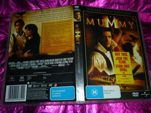 1 of 1 - THE MUMMY (UNEARTHED EDITION) : (DVD, M)