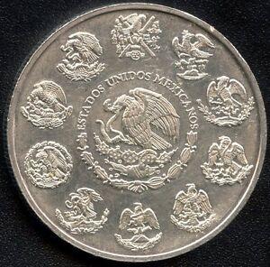2004-Mexico-1-Ounce-Silver-Coin-31-1-Grams-999-Silver