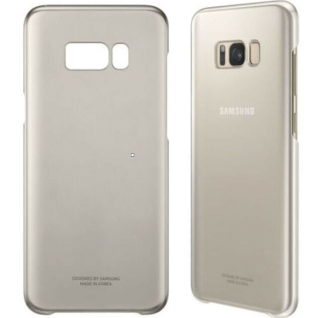 For Samsung S8 Plus (G955F) Original Gold Clear Phone Case Cover Hard Shell