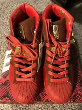 Adidas Original x Big Sean Detroit Players Pro Model RED Size 8.5 DS