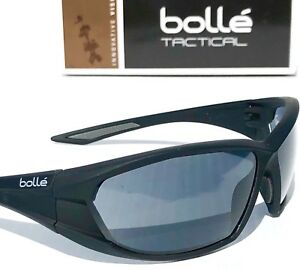 3ef876ab13 NEW* Bolle Tactical RANGER Matte Black w POLARIZED Gray Sunglass + ...
