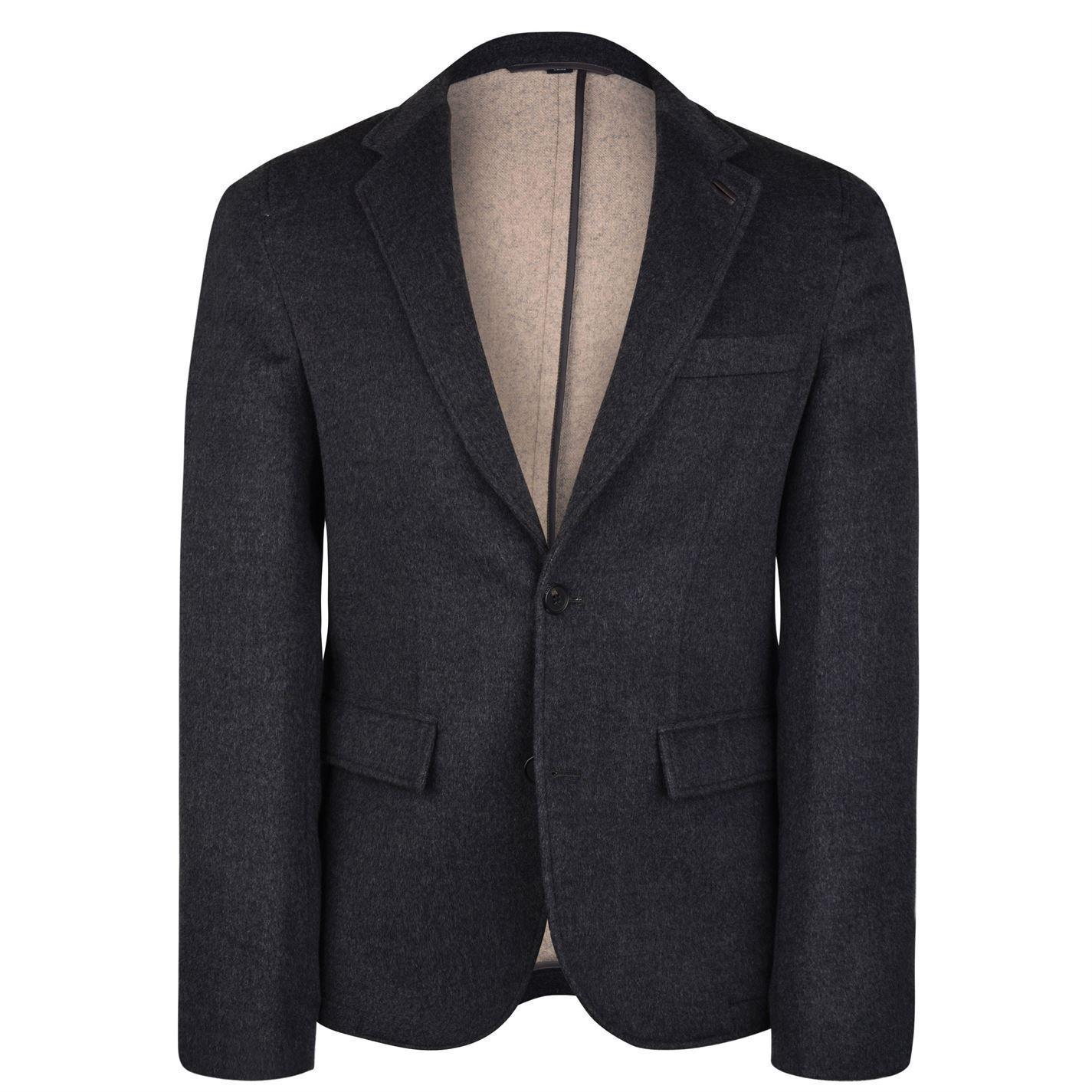 BNWT herren Stunning DKNY wolleCASHMERE blazer jacke Größe uk 40R or L .