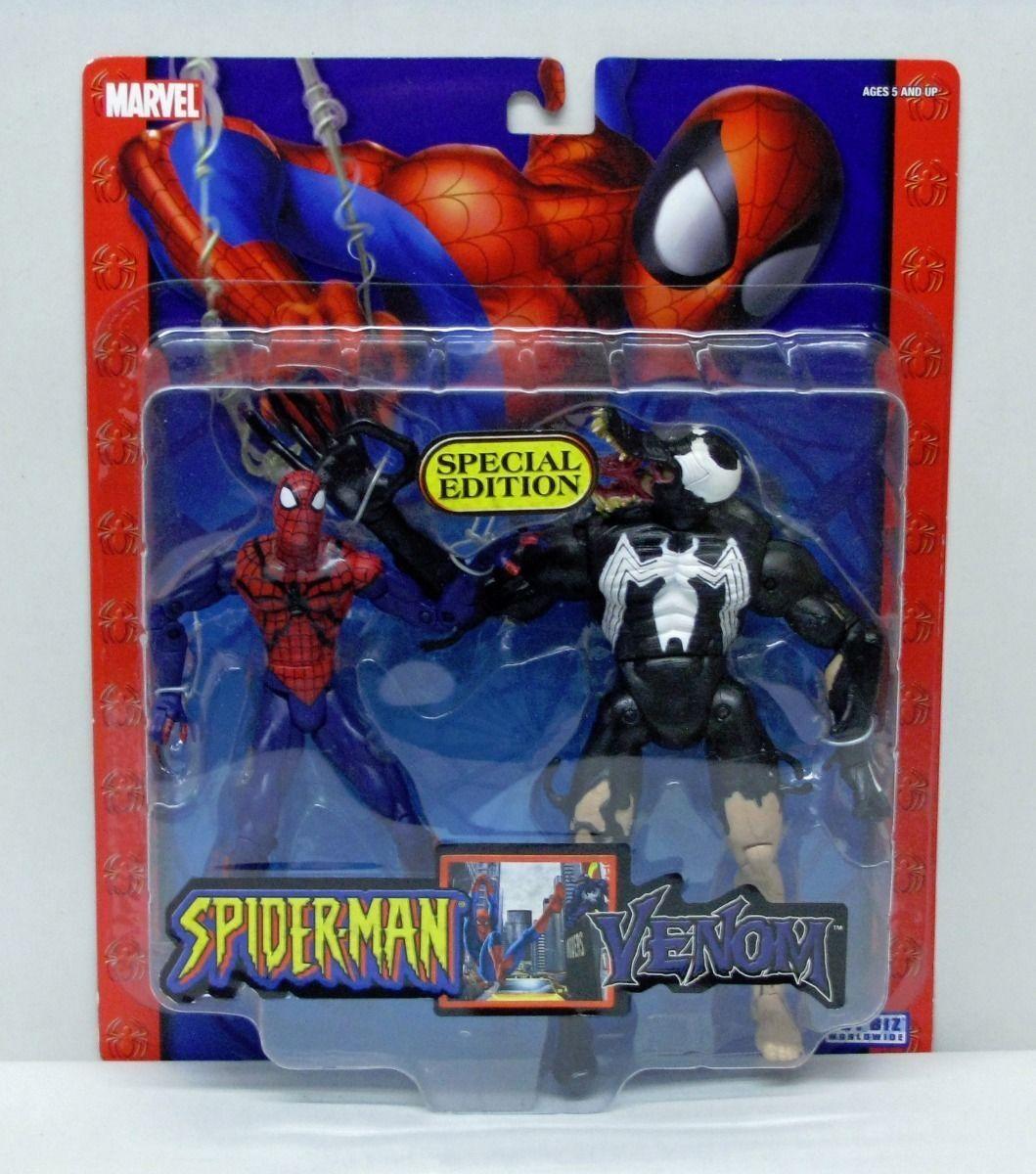 Spider-Man Special Edition 2 Figure Set Spider-Man Venom 2005 ToyBiz S158-10