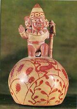 Alte Kunstpostkarte - Madrid - Mochica ceramics