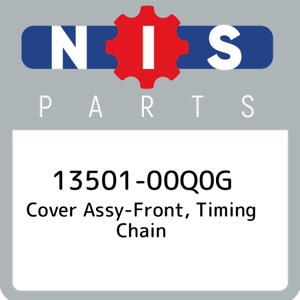 13501-00Q0G-Nissan-Cover-assy-front-timing-chain-1350100Q0G-New-Genuine-OEM-Pa