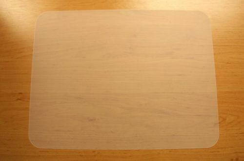 1 Set = 6 transparente Tischsets Platzmatte Unterlage PP abwaschbar 42 x 32 cm
