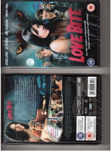 1 of 1 - Love Bite (DVD, 2013)-NEW&SEALED-JESSICA SZOHR, ED SPELEERS & TIMOTHY SPALL