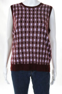 149 Nwt J Crew Collection Womens Cashmere Sweater Vest Size Xl Red