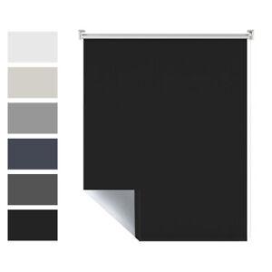 Fensterrollo-Klemmfix-verdunkelungsrollo-ohne-Bohren-Sonnenschutz-Thermorollo